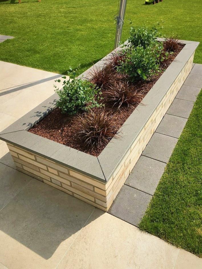 Mauerabdeckung aus Granit